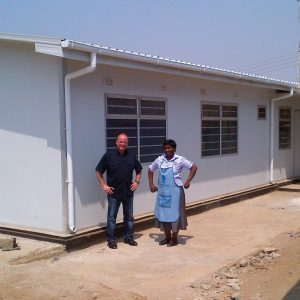 Centro regional de tratamiento del SIDA en África – 7 clínicas en un área de 280 m² para las regiones con una cantidad alta de enfermos de SIDA.