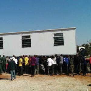Las clínicas están diseñadas para áreas remotas sin infraestructura