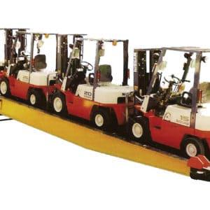 Ideal para cargar y descargar contenedores con montacargas