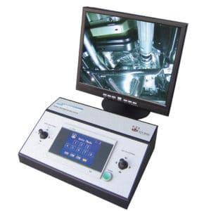 El sistema de cámaras transmite la grabación a una pantalla remota (hasta a 1.500 metros de distancia) para que, en caso de que se descubran explosivos, no haya personas cerca del mismo. Las cámaras graban en alta resolución y alto contraste, para que sea posible ver hasta los más ínfimos detalles. Las imágenes son almacenadas en la memoria de la computadora.
