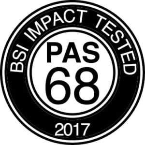BSI IMPACT TESTED. PAS 68 2017